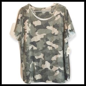 Vintage Washed Camo T-shirt